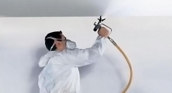 Промышленная покраска стен, потолков, ограждений