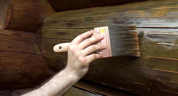 Обработка огнезащитным составом деревянных конструкций
