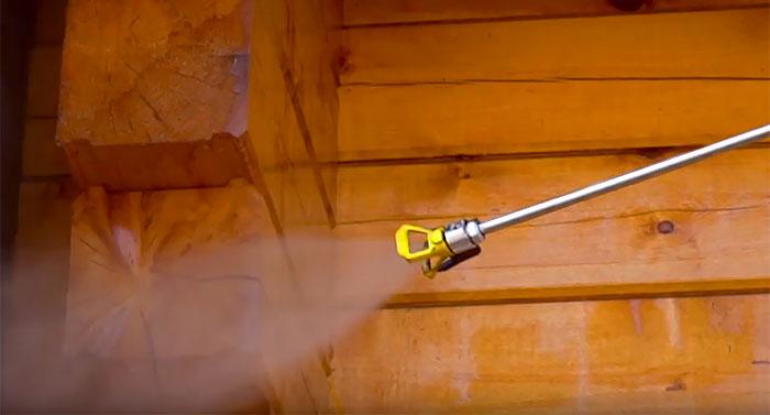 Огнезащитная обработка деревянных конструкций