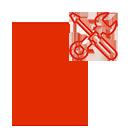 Иконка ремонт краскопульта